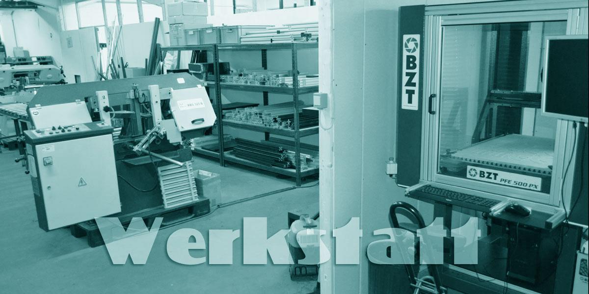 Glenk Teichbautechnik Werkstatt